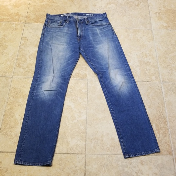 gap Other - Gap 1969 standard tapered jeans 32x32